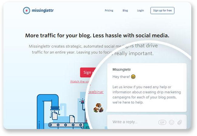 optimizar tienda online chat en vivo